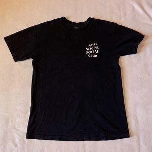 Authentic Anti Social Social Club T-shirt